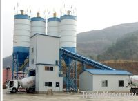 Sell HZS50 concrete batching plant