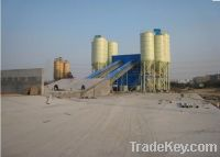 Sell HZS50 Stationary concrete batching plant