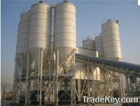 Sell  HLS120 concrete batching plant