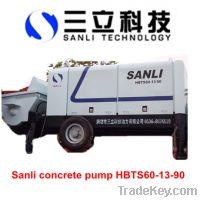 Sell HBTS60-13-90 concrete pumps