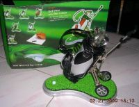 Selling golf pen holder with pens G115D