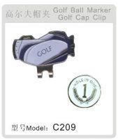 Selling golf hat clip C209