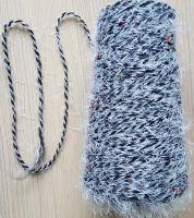 52%acrylic 45%nylon 3%polyester nep feather yarn fancy yarn