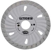 Sell Small waved turbo diamond blade fot fast cutting hard and dense m