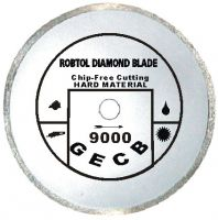 Sell Small continuous rim diamond blade for chip-free cutting