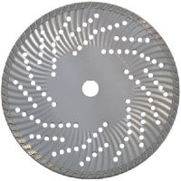 Sell Waved turbo diamond blade for hard & dense material