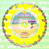 Sell Deep Tooth Segmented Diamond Blade for Green Concrete and Asphalt
