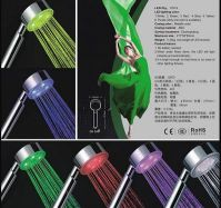 Sell temperature controled led shower, led showers manufacturer