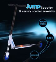 new design X scooter, hybrid of pogo stick and scooter, best quality with SGS certification