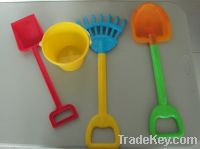 Sell Beach toy shovel & rake set