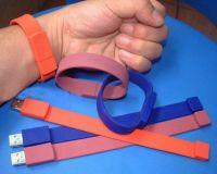 sillicon bracelet usb flash drives