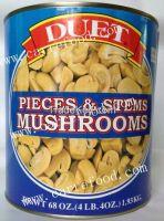 15oz Canned Straw Mushroom