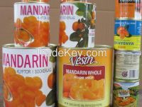 Canned whole Mandarin Orange in syrup