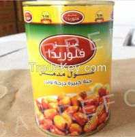400g Canned broad bean with fava beans and foul medames