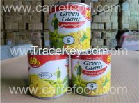 For sweet corn cans in brine with 400g