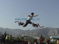 Sell poweriser/powerskip/Bounce shoes/fly jumper/jump stilts with CE