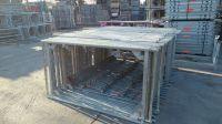 2000 sqm Used Layher Frame scaffolding Blitz