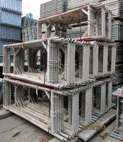 Used Scaffolding Plettac with Aluminum Decks  1500 sqm