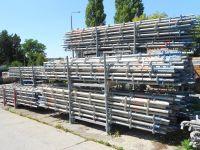 600sqm Layher Allround Used Modular Scaffolding