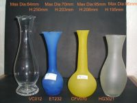 Sell Clear and Frosted Vases