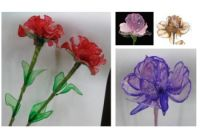 Sell crystal flower, crystal rose