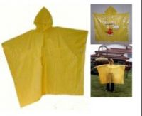Sell pvc/pe raincoat, poncho