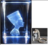Sell 3d laser engraved Crystal Cubes