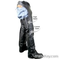 Sell motorbike leather chaps for mens
