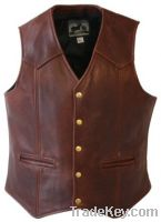 Sell leather vest