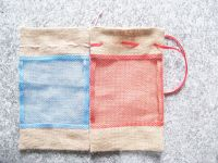 Sell bean jute bag
