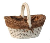 Sell willow picnic basket with lining
