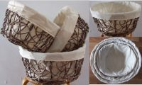 Sell willow basket with liner