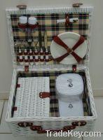 Sell white picnic basket