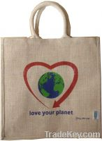 Sell promotion jute tote bag
