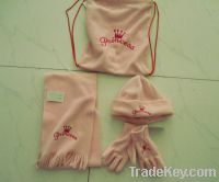 Sell women knitted hat and scarf