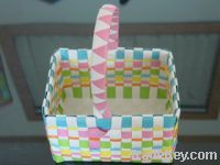 Sell promotional plastic gift basket