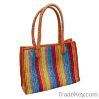 Wheat Straw Bag colorful
