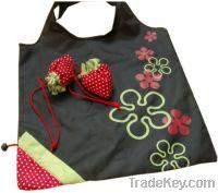 strawberry nylon bag