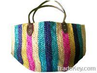 fashion straw woven lady bag