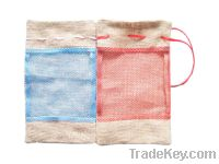 Sell promotional jute pouch bag package