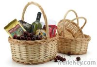Sell wicker basket with liner