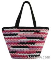 Sell maize straw handbag colorful