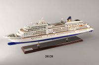 20120 Wooden ship model wooden yatch wooden boat model fish boat model
