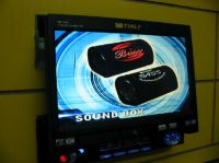 """7"""" In Dash Fully Motorized TFT-LCD with Built-in TV Tuner & AM/FM"""