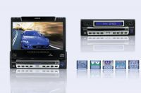 """7"""" In dash Fully Motorized Touch-screen LCD with DVD/TV/AM,FM"""