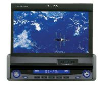 """7"""" In dash Fully Motorized TFT-LCD Monitor with TV / AMP"""
