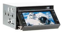 "6. 5"" In Dash Full Motorized TouchScreen LCD Monitor w/ TV / FM,AM"
