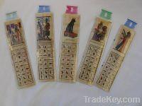 Wholesale Lot 100 Egyptian Original Papyrus Book Marks,