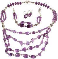 Sell Amethyst Jewelry(Bracelet Necklace, earring)