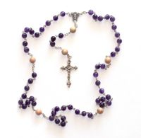 Sell Amethyst Pray Beads necklace